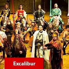Beto Carrero World - Opcional: 1 Dia Show Excalibur com Almoço