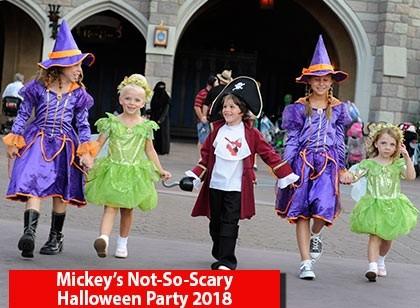 Mickey's Not-So-Scary Halloween Party 2018 - Pré-Venda